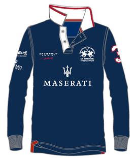 Maserati Piquet langarm Polo