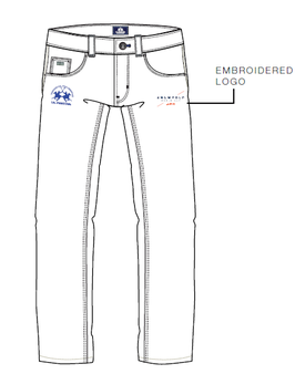 SC Official Damen Jeans
