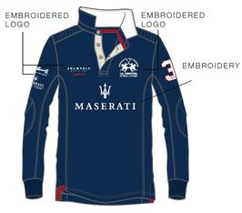 Maserati Teamshirt Unisex