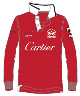 Cartier Piquet Long Sleeve Polo