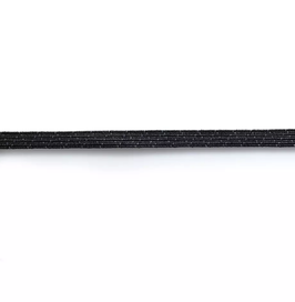 Super-Elastic, 7mm, schwarz, 3m - Prym