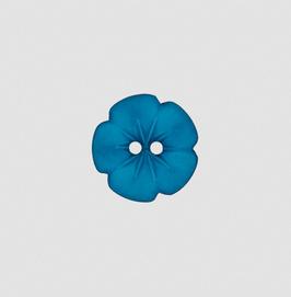 Blumen-Knopf verschiedene Farben 15 mm - 2-Loch