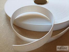 Elastisches Band, Gummiband, Hosengummi 35 mm weich - weiß oder schwarz - Prym