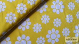 Blumen gelb - Biojersey Naperonuttu