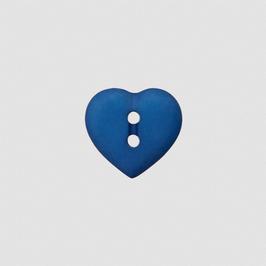 Herz-Knopf verschiedene Farben 15 mm - 2-Loch