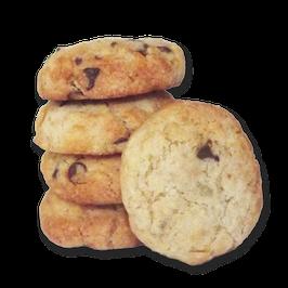 Cookies Oranges confites/Pépites