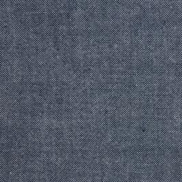 7. Robert Kaufman / Cotton Chambray / Union Indigo Plain