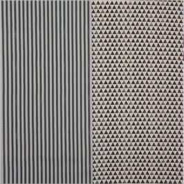 Echino / Ni-Co / Mark / Grey Stripes - Black Triangels