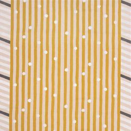 Echino / Line / Yellow - Silver