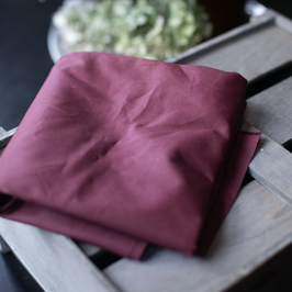 Mind the Maker / Wine Red / Organic Waxed Cotton