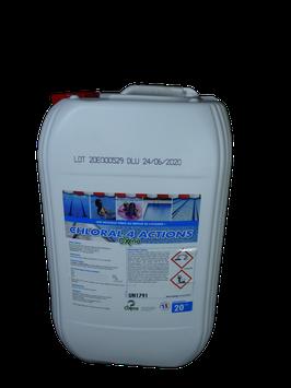 Chlore liquide - 20 L