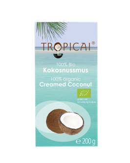 Tropicai Kokosnussmus, Bio, Würfel 200g