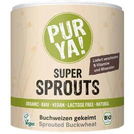 PURYA Bio Super Sprouts Buchweizen (220g)