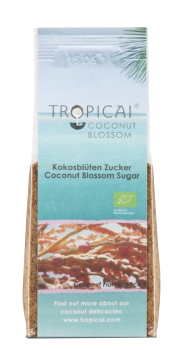 Tropicai Kokosblütenzucker, Fairtrade, Bio, Beutel 250g