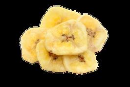 Bananenchips geröstet, mit Honig gesüsst