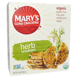 Mary's Gone Crackers, Organic 6.5 oz (184 g)