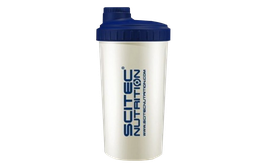 Scitec Nutrition Shaker - 700ml Transparent/Blau