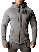 PROBROWEAR L.E. ZIPPER GREY