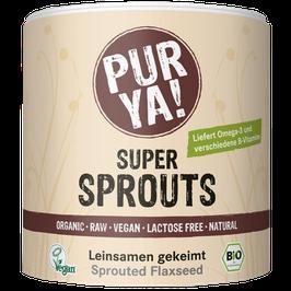 PURYA Bio Super Sprouts Leinsamen (200g)