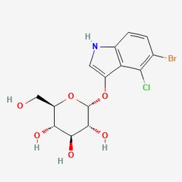 5-Bromo-4-Chloro-3-Indolyl-α-D-Glucopyranoside (X-α-Glc)