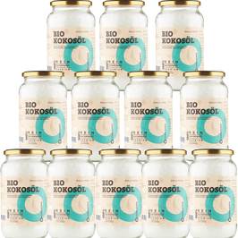 Bio Kokosöl CocoNativo - 12 x 1000 ml (1L)