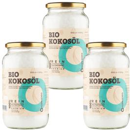 Bio Kokosöl CocoNativo - 3 x 1000 ml (3L)