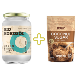 Black Friday Bio Kokosöl CocoNativo 1000ml + Kokosblütenzucker 200g