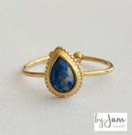 By Jam Ring Lapis Lazuli