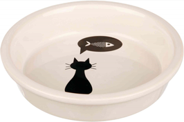 Keramiknapf Katze/Fisch