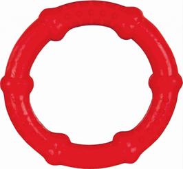 Hundespielzeug Ring, Naturgummi, schwimmt