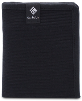 DENKEFAIR - LINE WALLET - BLACK