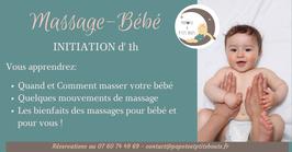 Initiation Massage-bébé en présentiel