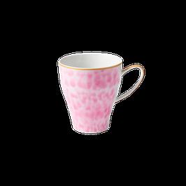 Tasse mit Glasur- / Marmor Print