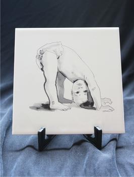 GEBOORTE TEGELTJE 15 x 15 cm
