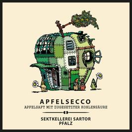 alkoholfreier Apfelsecco