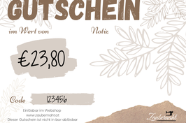 Wertgutschein Print@Home