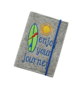 "Reisepasshülle R2 ""enjoy your journey"""