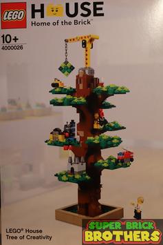 LEGO House Tree of Creativity
