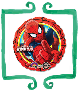 "Palloncino mylar Spiderman 18""/45cm"