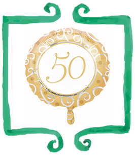 Palloncino 50 Anni Matrimonio