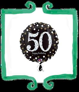 Palloncino 50 anni metallizzato