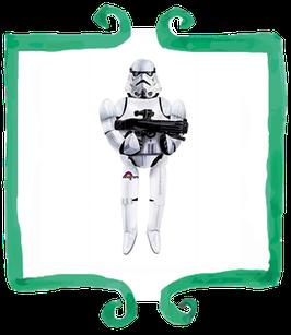 Palloncino Airwalker Star Wars Storm Trooper - 83 x 177 cm