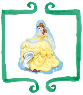 Palloncino mylar Belle - SuperShape