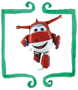Palloncino Super Wings - SuperShape