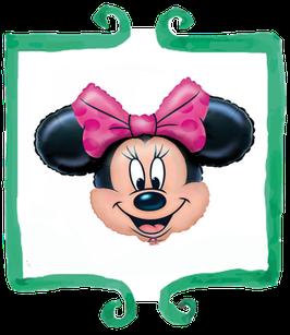 Palloncino mylar Testa di Minnie - SuperShape