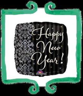 Palloncino Mylar Happy New Year!- 18 in (45 cm)