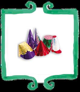 Cappellini vari metallizzati