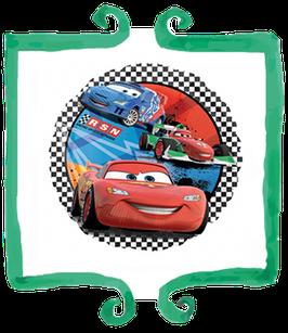 "Palloncino mylar Cars 18""/45cm"