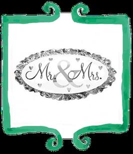 Palloncino Mr & Mrs - SuperShape