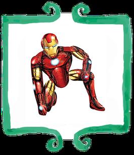 Palloncino Airwalker Iron Man - 116 cm
